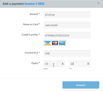 InfoFlo Pay: Payment processing