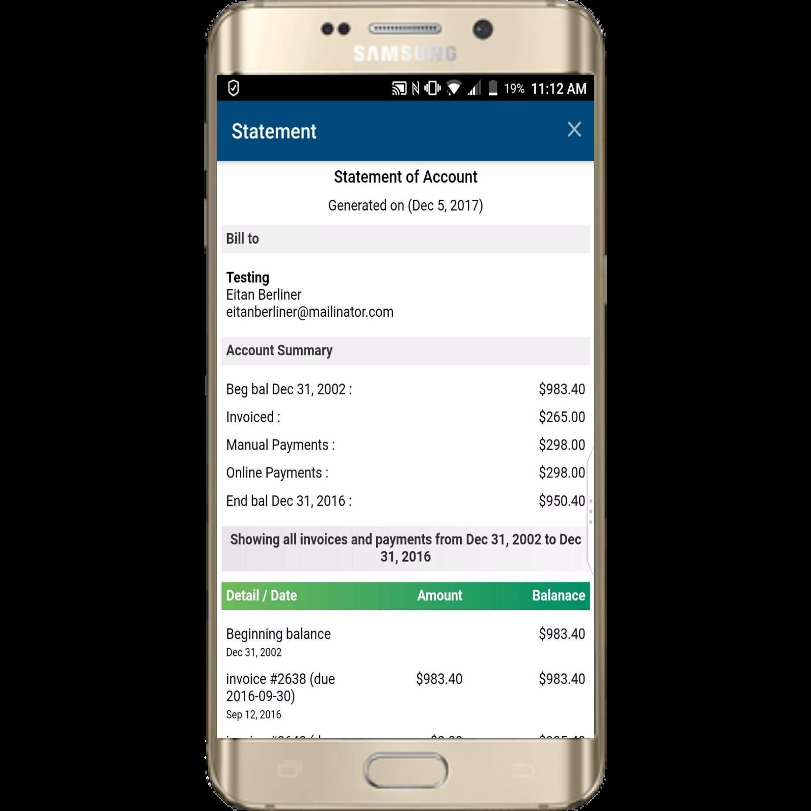 InfoFlo Pay: Mobile