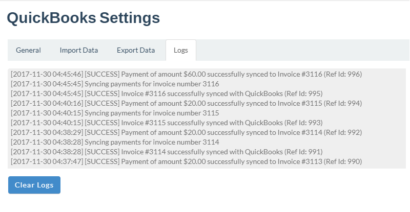 InfoFlo Pay: QuickBooks Sync