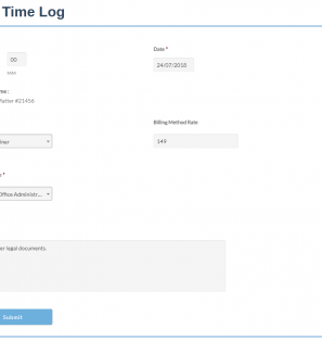 InfoFlo Pay: Add Time Log